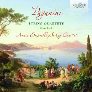 Paganini: String Quartets No. 1-3