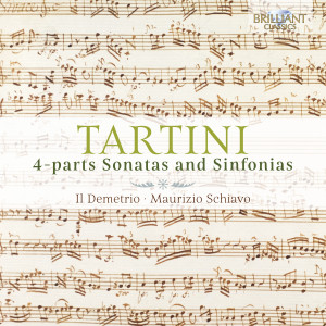 Tartini: 4-Parts Sonatas and Sinfonias
