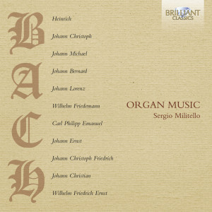 Bach Family: Organ Music