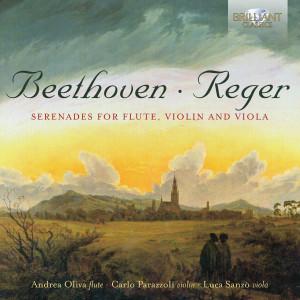 Reger, Beethoven: Serenades for Flute, Violin and Viola