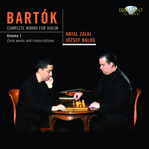 Bartok: Complete Works for Violin, Vol. 1
